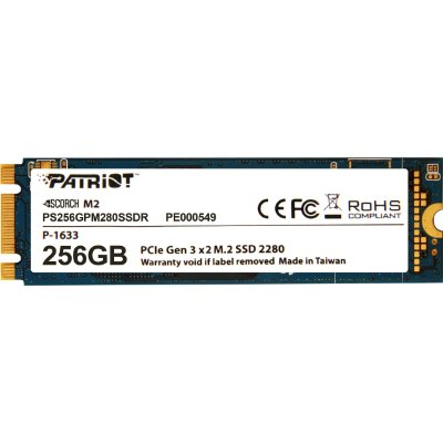SSD Patriot Scorch 256GB M.2 PCI-E