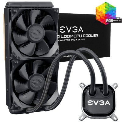 Watercooler EVGA CLC 240 RGB 120 - 400-HY-CL24-V1