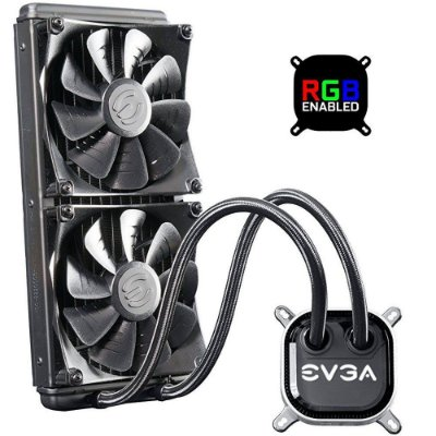WaterCooler EVGA CLC, 280, LED RGB, 400-HY-CL28-V1