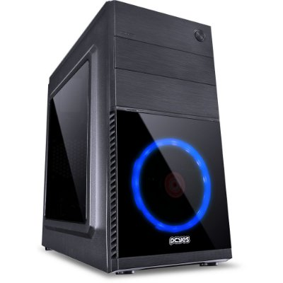PC HOME OFFICE - Intel I3 8100, Placa Mãe H310, 8Gb Ddr4, Hd 1Tb
