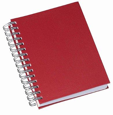LG285 Agenda Wire-O Percalux Vermelha