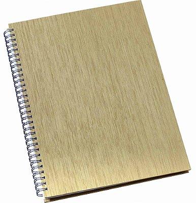 LGP306 Caderno de negócios pequeno Dourado