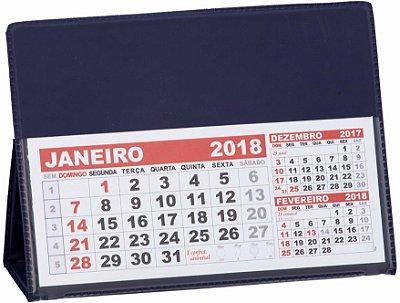 LG40 Calendário de Mesa 117x165mm Azul Marinho