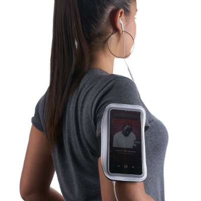 Braçadeira personalizada para celular