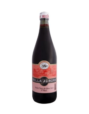 VINHO TINTO SECO IZABEL/BORDÔ 870ML - BELLA AURORA