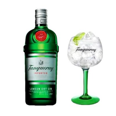 Gin Tanqueray London Dry + Taça Tanqueray