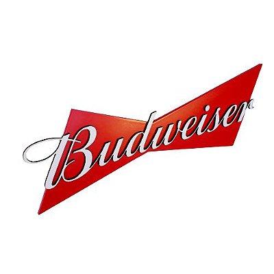 Placa Budweiser em MDF