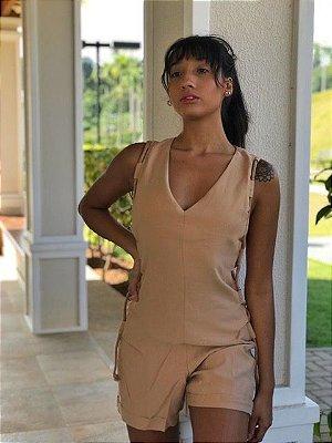 Macaquinho Bella Nude