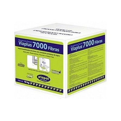 Viaplus 7000 Fibras 18Kg - Viapol