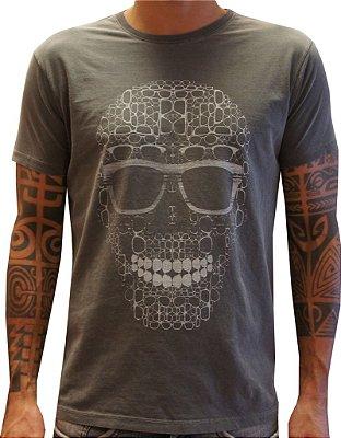 T-shirt óculos caveira