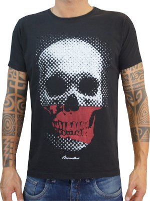 T-shirt Boundless Red Skull
