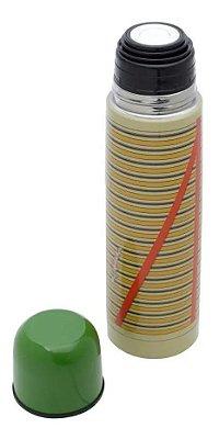 Garrafa Térmica Aço Inox Chaves Shirt Colorido