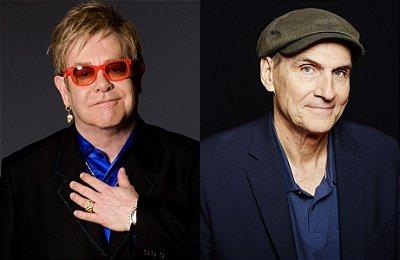 Shows Elton John & James Taylor