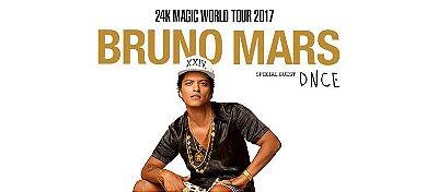 Show Bruno Mars - 22/11/2017
