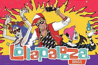 Lollapalooza Brasil 2018 - Pacote 1 Dia de Evento