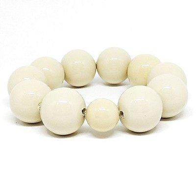Maxi pulseira bolas off white