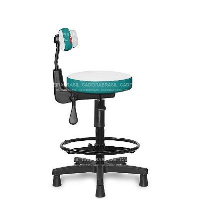 Mocho Alto Ergonômico Estética, Fisioterapia, Odontologia Colors CB 1646 Cadeira Brasil