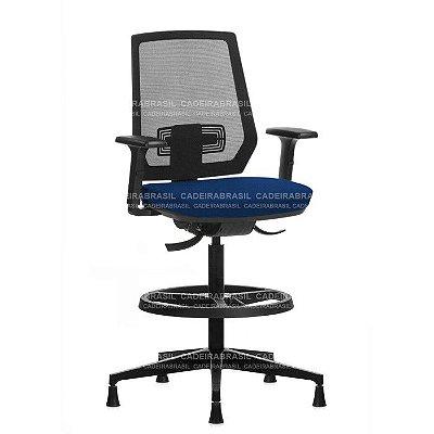 Cadeira Caixa Executiva Ergonômica Dash DAE03 Cadeira Brasil