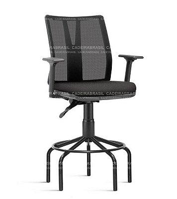Cadeira Caixa Executiva Ergonômica BOSS BOE19 Cadeira Brasil