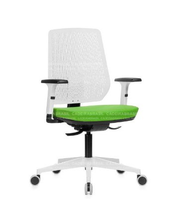 Cadeira Executiva Ergonômica Polax POE01 Cadeira Brasil