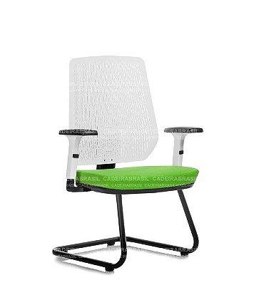 Cadeira Fixa Executiva Polax POE09 Cadeira Brasil