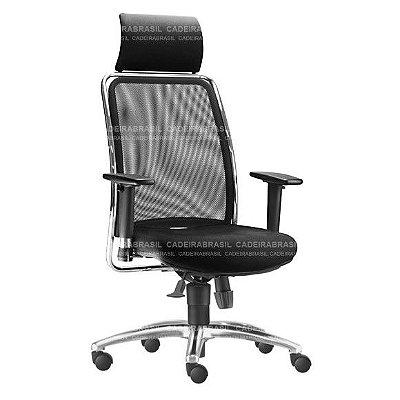 Cadeira Presidente Giratória Vezzi VEP51 Cadeira Brasil