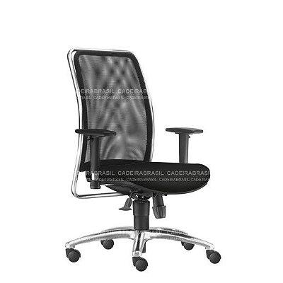 Cadeira Presidente Ergonômica Vezzi VEP02 Cadeira Brasil