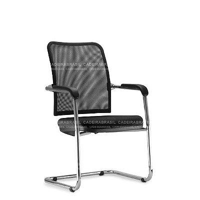Cadeira Fixa Diretor Vezzi VED53 Cadeira Brasil