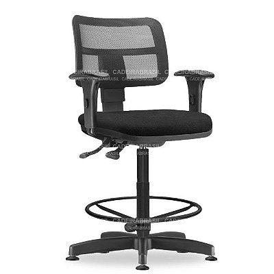 Cadeira Caixa Executiva Ergonômica Vezzi VEE03 Cadeira Brasil