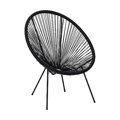 Cadeira Fixa Design Solar Cordas em PVC Cadeira Brasil