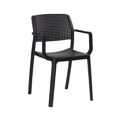 Cadeira Fixa Design Trema Polipropileno Cadeira Brasil