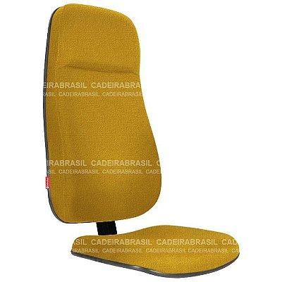 Assento e Encosto Presidente Extra Ravan RVPAE01P Cadeira Brasil
