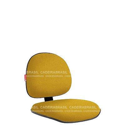Assento e Encosto Executivo com Lâmina Ravan RVPAE08P Cadeira Brasil
