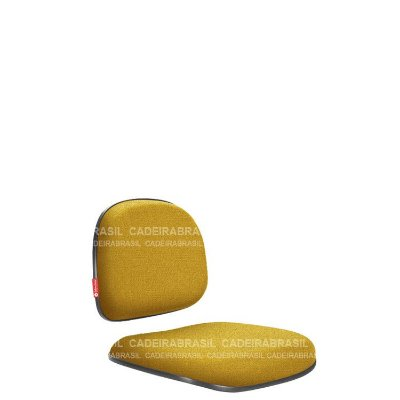 Assento e Encosto Secretária Ravan RVPAE10P Cadeira Brasil