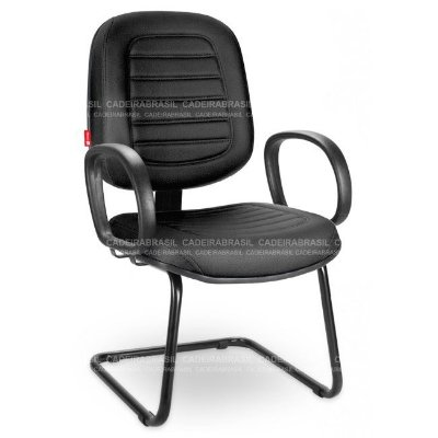 Cadeira Fixa Diretor Home Office PRD03S Cadeira Brasil