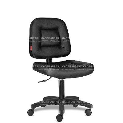 Cadeira de Escritorio Giratória Executiva Preta Siena CB 1420 Cadeira Brasil