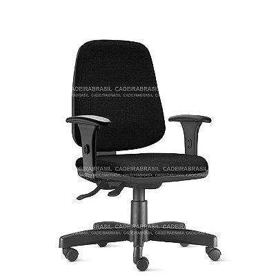 Cadeira Escritório Job Presidente Ergonômica Giratória NR17 Frisokar