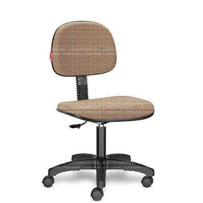 Cadeira de Escritório Giratória Bege Mesclado RVS06 Tecido Saldão
