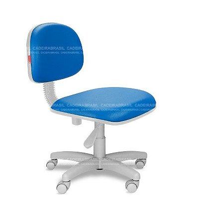 Cadeira de Escritório Giratória Azul Royal RVS86 Sintético Saldão