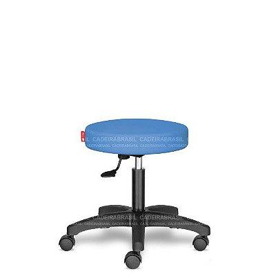 Mocho Estética Fisioterapia Odontologia Azul Céu CB1602 Sintético Saldão