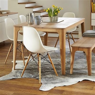 Cadeira Fixa Design Amaze Polipropileno Pés Madeira Cadeira Brasil