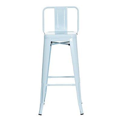 Banqueta Fixa Design Brave com Encosto Cadeira Brasil