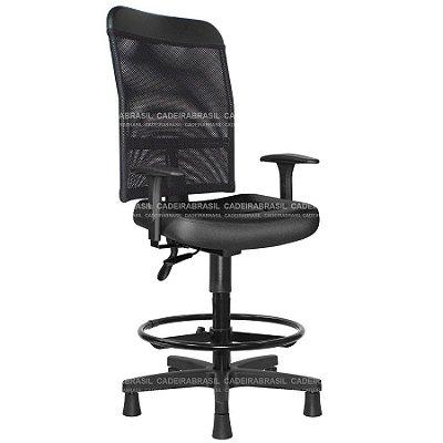 Cadeira Caixa Ergonômica Executiva Lynx LYE03 Cadeira Brasil