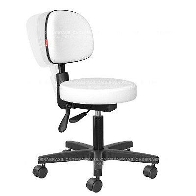 Cadeira Mocho Estética, Fisioterapia, Odontologia Secretária Ergonômico Cadeira Brasil CB 1630