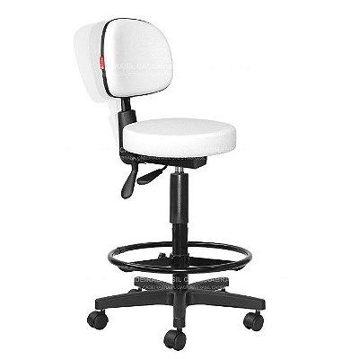 Cadeira Mocho Alto Estética, Fisioterapia, Odontologia Secretária Ergonômico Cadeira Brasil CB 1634
