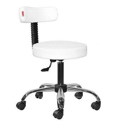 Cadeira Mocho Estética, Fisioterapia, Odontologia Slim Cadeira Brasil CB 1536