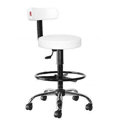 Cadeira Mocho Alto Estética, Fisioterapia, Odontologia Slim Cadeira Brasil CB 1538