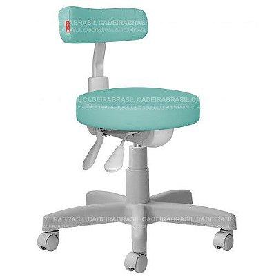 Cadeira Mocho Estética, Fisioterapia, Odontologia Slim Premium Ergonômico Cadeira Brasil CB 1537