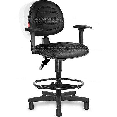 Cadeira Caixa Ergonômica Executiva Parma PRE03 Cadeira Brasil