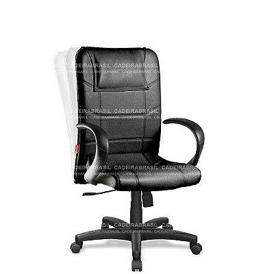Cadeira Escritório Presidente Giratória com Braços Frari FAP02